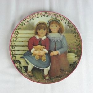 SISTERS Are Blossoms PLATE Limited Ed BRADFORD